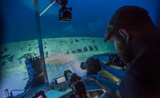 Ases de las profundidades; arqueología y u-boats en el cabo Hatteras