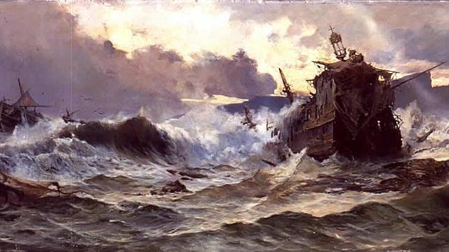 Resultat d'imatges de naufragio
