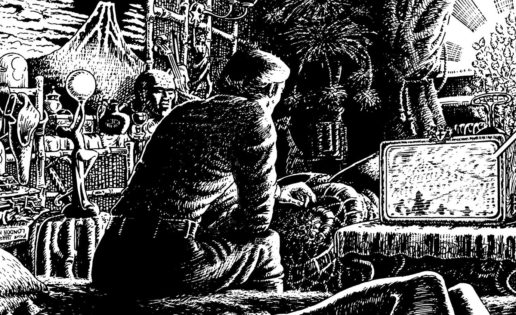 El multiverso gráfico de Luther Arkwright