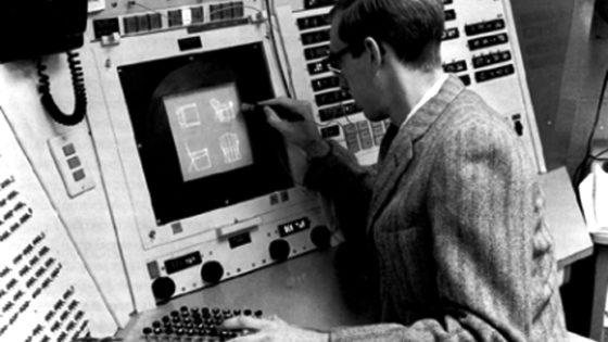El primer editor gráfico interactivo es de 1963