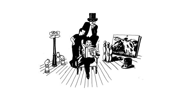 Resultado de imagen para magritte visto por turner