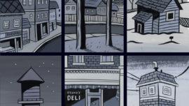 La nostalgia gráfica del dibujante Seth