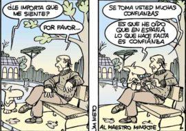 Mingote y rata, por J.M. Nieto