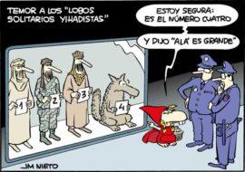 Lobos solitarios yihadistas, por J.M. Nieto