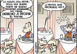 El postre de Artur Mas, por J.M. Nieto
