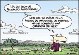 La camiseta de Messi, por J.M. Nieto