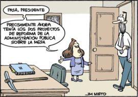 Reforma de la administración pública por, J.M. Nieto