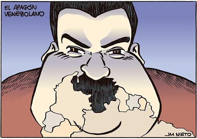 Apagón venezolano
