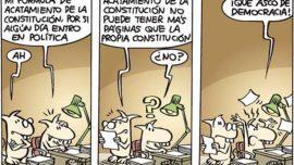 La parte contratante de la primera parte de mi acatamiento de la Constitución…