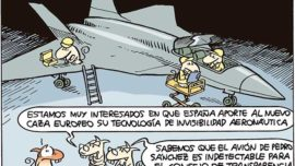 España participa en el nuevo caza europeo