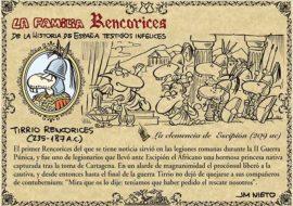 La familia Rencorices, de la historia de España testigos infelices