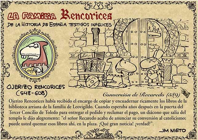 La familia Rencorices, de la historia de España testigos infelices (II)