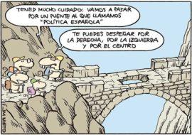 El puente de la política española