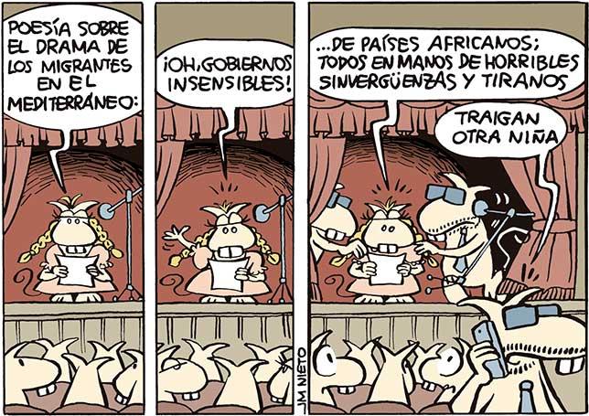 ¡Oh, gobiernos insensibles…!