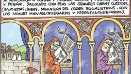 Los amanuenses y la cultura occidental