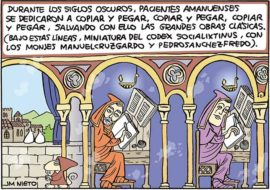 Los amanuenses y la cultura occidental