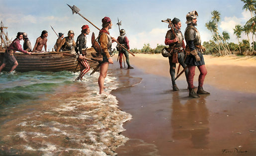Las expediciones de Alonso de Ojeda