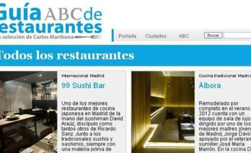 La Guía ABC de Restaurantes, una guía muy personal