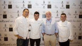 El menú de Atxa, Camarena y Chiang en Azurmendi