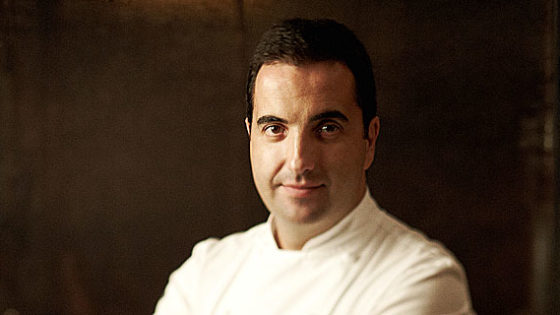 Óscar Velasco (Santceloni), elogio de un cocinero