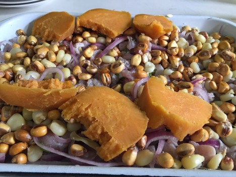 Ceviche de fortuno en Mechita