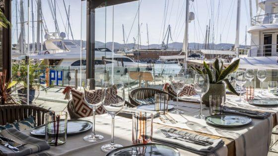 49 Steps, comer (bien) en el puerto de Palma