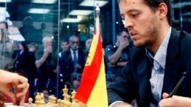 El regreso airado de Paco Vallejo, el mejor ajedrecista de España