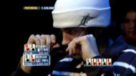 La mejor mano de póquer de la historia