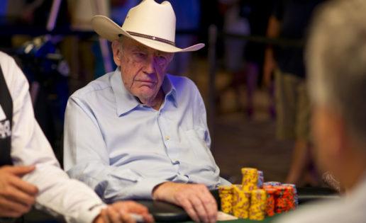 El viejo Doyle Brunson y siete españoles luchan por la gloria en las WSOP