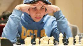 Un ajedrecista de 14 años, admitido en la Universidad de UCLA