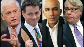 Bloomberg televisa una timba entre tiburones de Wall Street