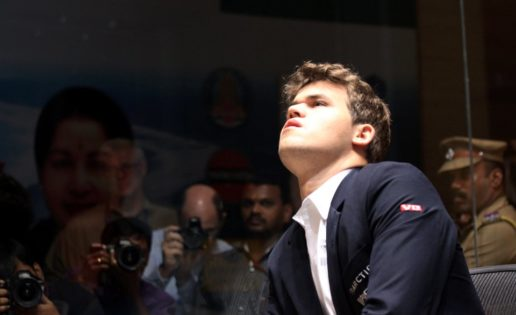 Carlsen, virtual campeón del mundo de ajedrez