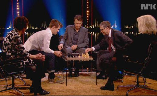Magnus Carlsen destroza a Bill Gates en 9 jugadas