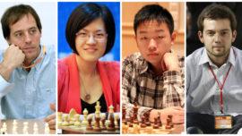 El mejor ajedrez chino reta a los españoles Vallejo y Salgado en León