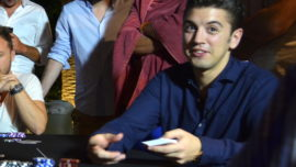Vicente Delgado: brazalete y 500.000 euros en el Mundial de Póker Online