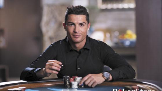 Cristiano Ronaldo ficha por PokerStars