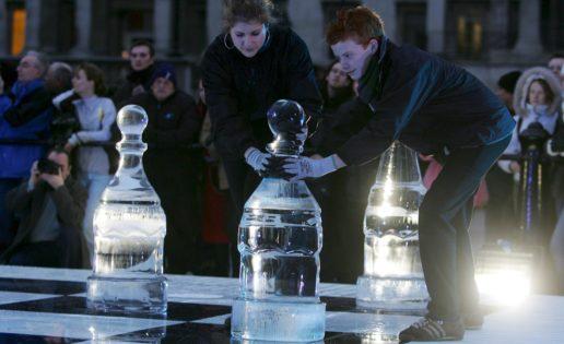 ¿Piezas de hielo para que el ajedrez sea deporte olímpico de invierno?