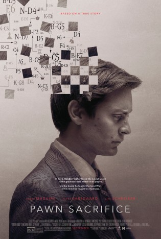 Cartel de «Pawn sacrifice»