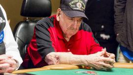 William Wachter, de 94 años, el abuelo de las Series Mundiales de Póker