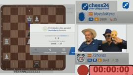 72 horas seguidas jugando al ajedrez