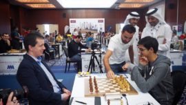 La jugada ilegal de Xavi en el abierto de ajedrez de Qatar