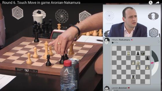 Nakamura aprende de la forma más cruel la regla básica del ajedrez