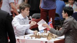 Carlsen acaba con un fantasma y gana en Bilbao