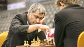 Ivanchuk, líder del Mundial de rápidas tras ganar a Carlsen