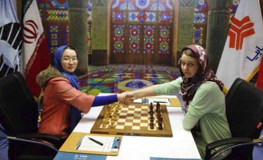 La china Tan Zhongyi, sorprendente ganadora del Mundial femenino