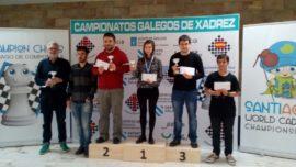 El campeón de ajedrez de Galicia es una mujer: Inés Prado