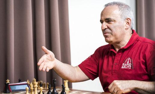 Garry Kasparov cierra una era a lo grande