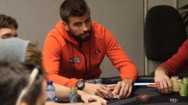 Gerard Piqué gana 129.000 euros en un torneo de póker