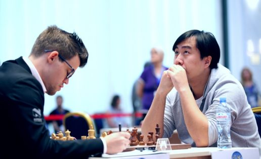El chino Bu Xiangzhi apea a Carlsen de la Copa del Mundo