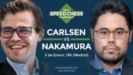 Carlsen y Nakamura juegan la final del mayor torneo de ajedrez por internet